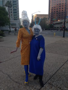 Andorian costumes at Star Trek: The Ultimate Voyage; Photo by Christopher Erickson