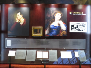 Exhibit display about Ada Lovelace; Photo by Jean Martin