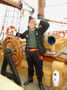 Pirating; Photo courtesy of Christopher Erickson