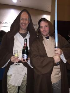 Obi-bun Thornobi and Christopher Erickson; Photo courtesy of Christopher Erickson
